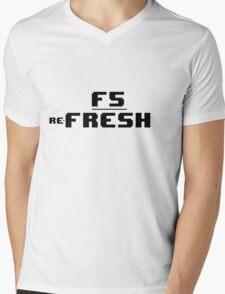 re-Fresh Mens V-Neck T-Shirt
