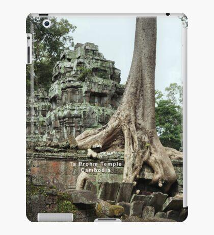 Ta Prohm Temple, Cambodia iPad Case/Skin