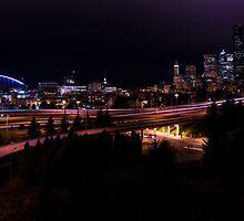 Seattle Night by Chad Dutson