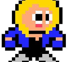 8-bit Black Canary by 8 Bit Hero