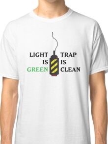 Ghostbusters - Light is Green, Trap is Clean Classic T-Shirt