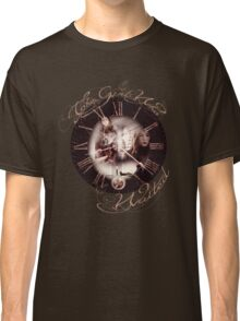 The Girl Who Waited Clock Classic T-Shirt