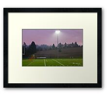 this sporting life 2 Framed Print