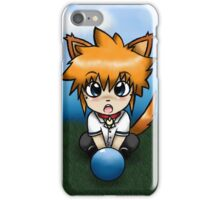 Chibi Fox Play Time phone case iPhone Case/Skin