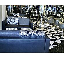 Shapes & Patterns in Foyer at the Casino, Riverside,  Entrance, Vic Photographic Print