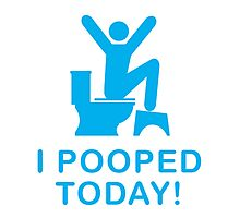 I pooped today Photographic Print