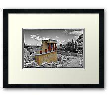 Knossos Framed Print