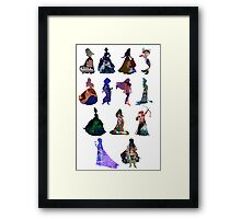 Lucky Thirteen  Framed Print