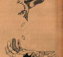 Bird Hand by Samuel Humphreys