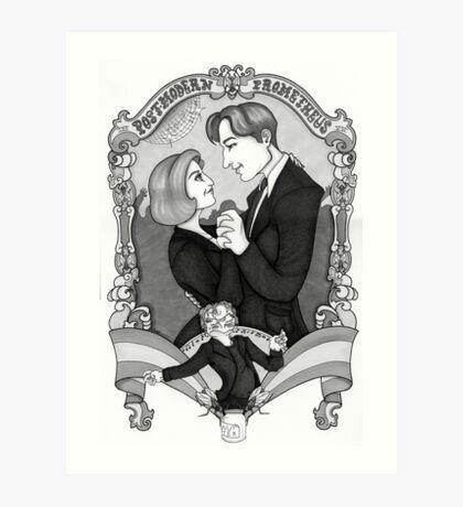 X-Files - Post Modern Prometheus Art Print