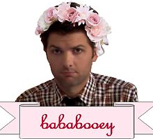 Ben Wyatt Parks and recreation Bababooey by VioletJigsaw