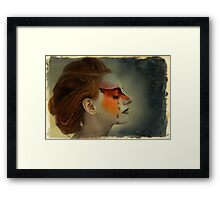Painted 2 Framed Print