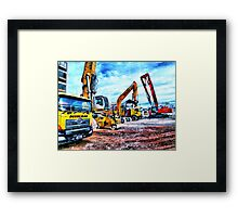 Wacky races  Framed Print