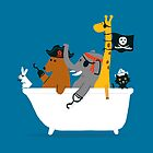 Everybody wants to be the pirate by Budi Satria Kwan
