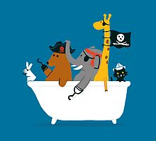 Everybody wants to be the pirate by Budi Kwan