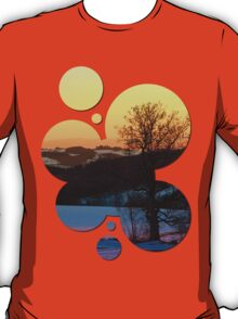 Colorful winter wonderland sundown V | landscape photography T-Shirt