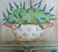 Still Life with lavender by Sonja Peacock