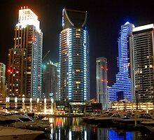 A night in Dubai by Baha Mosa