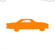 XM Falcon silhouettes (Coupe centre) Sticker