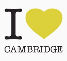 I ♥ CAMBRIDGE Baby Tee
