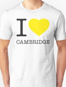 I ♥ CAMBRIDGE Unisex T-Shirt