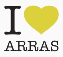 I ♥ ARRAS One Piece - Short Sleeve