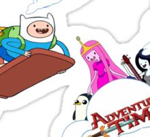 Adventure Time Party Sticker