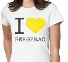 I ♥ BERGERAC Womens Fitted T-Shirt