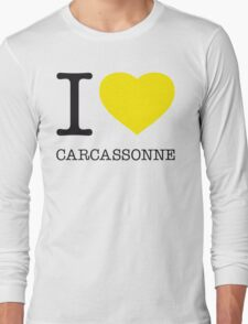 I ♥ CARCASSONNE Long Sleeve T-Shirt