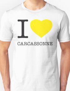 I ♥ CARCASSONNE Unisex T-Shirt