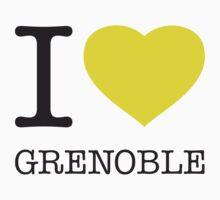 I ♥ GRENOBLE Kids Tee