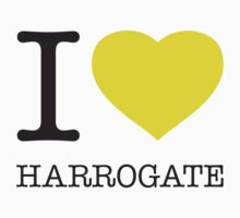 I ♥ HARROGATE One Piece - Short Sleeve