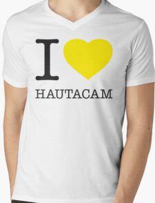 I ♥ HAUTACAM Mens V-Neck T-Shirt