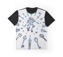 "Kingdom Hearts ""Keyblade"" Graphic T-Shirt"