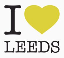 I ♥ LEEDS One Piece - Long Sleeve
