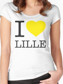 I ♥ LILLE Women's Fitted Scoop T-Shirt