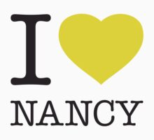 I ♥ NANCY One Piece - Short Sleeve