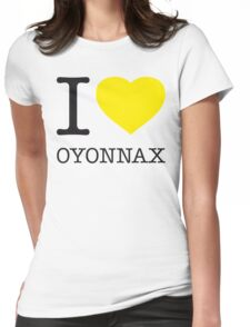 I ♥ OYONNAX Womens Fitted T-Shirt