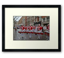 New Year's Day Parade leon high school band London 2014 Framed Print