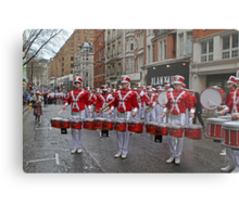 New Year's Day Parade leon high school band London 2014 Metal Print