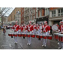 New Year's Day Parade leon high school band London 2014 Photographic Print