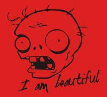 Plants vs Zombies - I am Beautiful One Piece - Short Sleeve