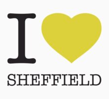 I ♥ SHEFFIELD One Piece - Short Sleeve