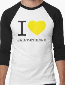 I ♥ ST. ETIENNE Men's Baseball ¾ T-Shirt
