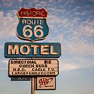66 Motel by Trevor Middleton