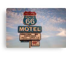 66 Motel Metal Print