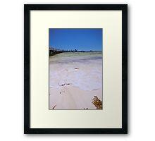 Greenhead, Western Australia Framed Print