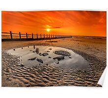 Blazing Sands Poster