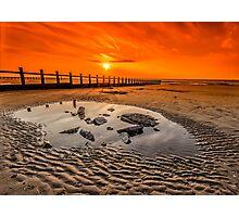 Blazing Sands Photographic Print