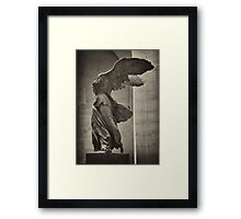 Winged Victory of Samothrace Framed Print